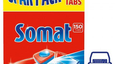 Somat Spülmaschinen-Tabs Classic, für die tägliche Reinigung (1 x 150 Tabs)